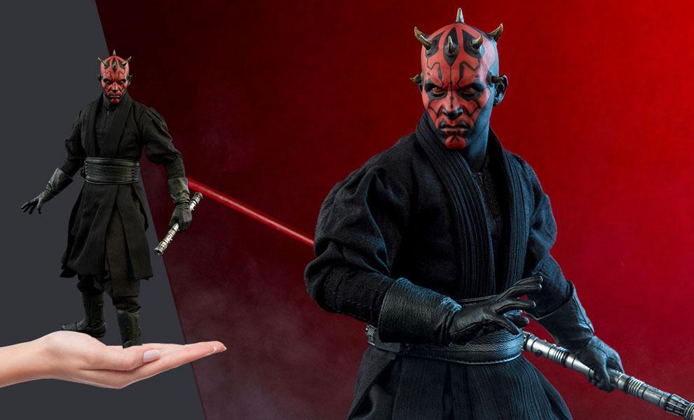 Darth Maul Duel on Naboo Star Wars Sixth Scale Figure