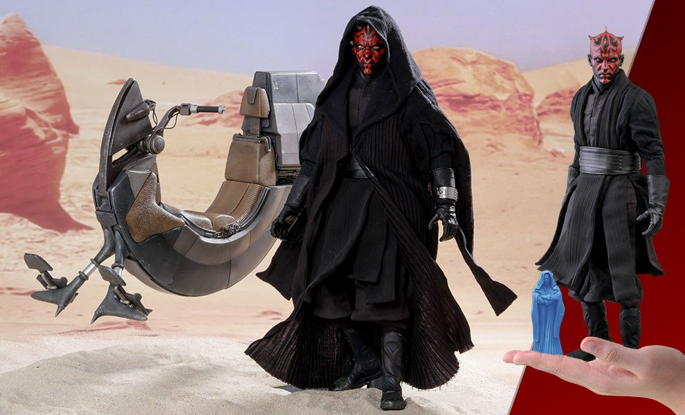 Darth Maul with Sith Speeder Special Edition Star Wars Sixth Scale Figure