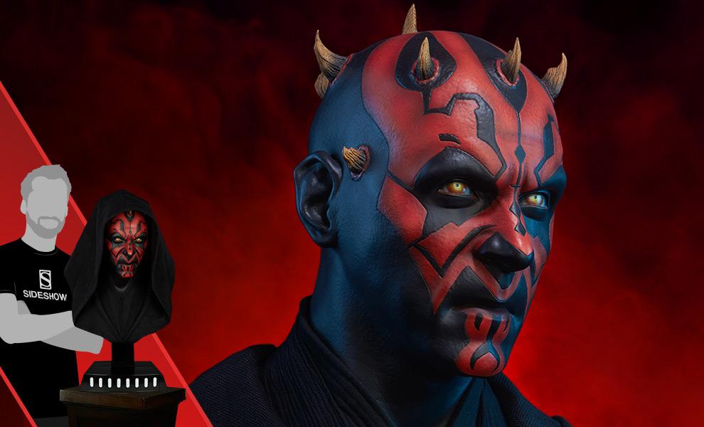 Darth Maul Star Wars Life-Size Bust