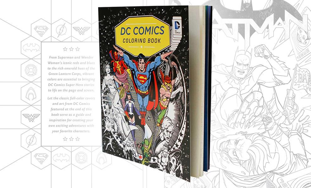 DC Comics Coloring Book DC Comics Book
