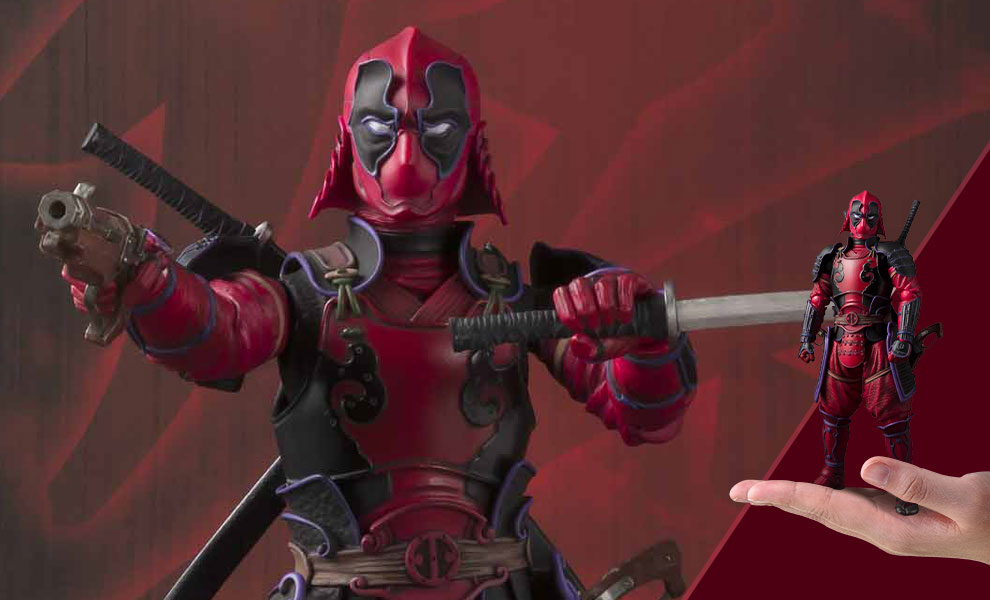 Deadpool Meisho Manga Realization Marvel Collectible Figure