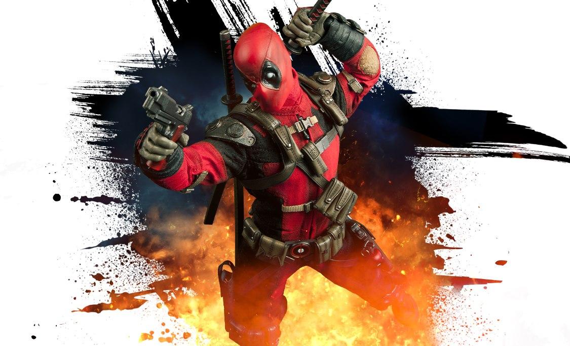 Deadpool Marvel Sixth Scale Figure