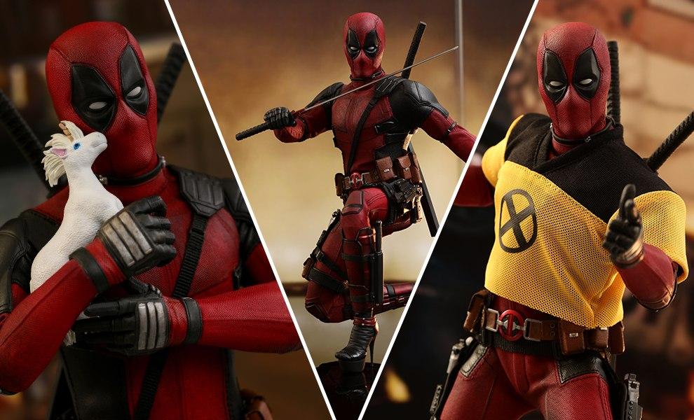 Deadpool Marvel Sixth Scale Figure 2
