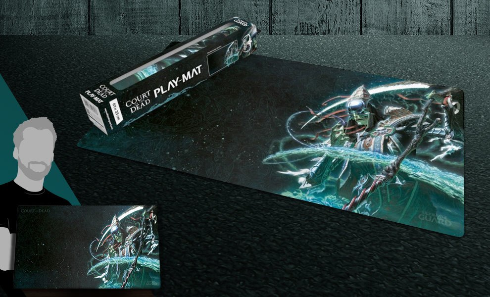 Death Play Mat Court of the Dead Gaming Accessories