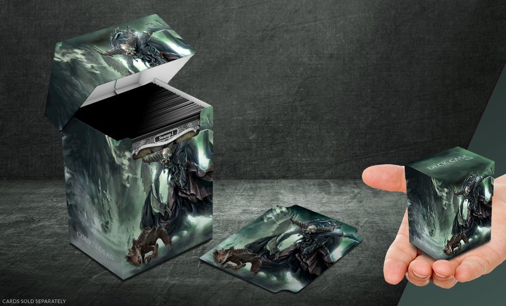Death's Executioner Deck Case 80+ Court of the Dead Gaming Accessories