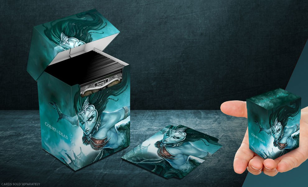 Death's Siren Deck Case 80+ Court of the Dead Gaming Accessories