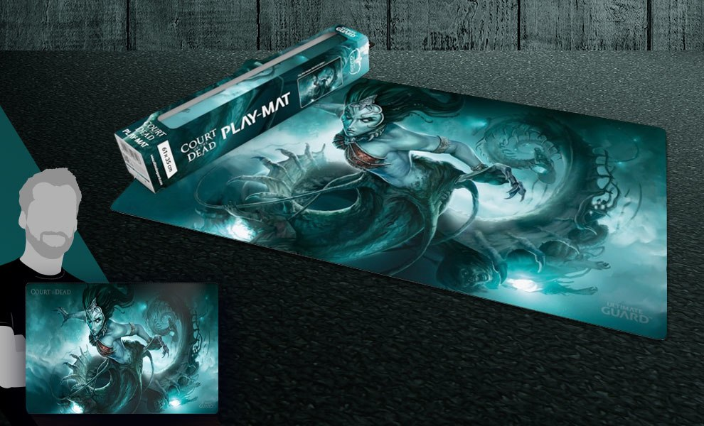 Death's Siren Play Mat Court of the Dead Gaming Accessories