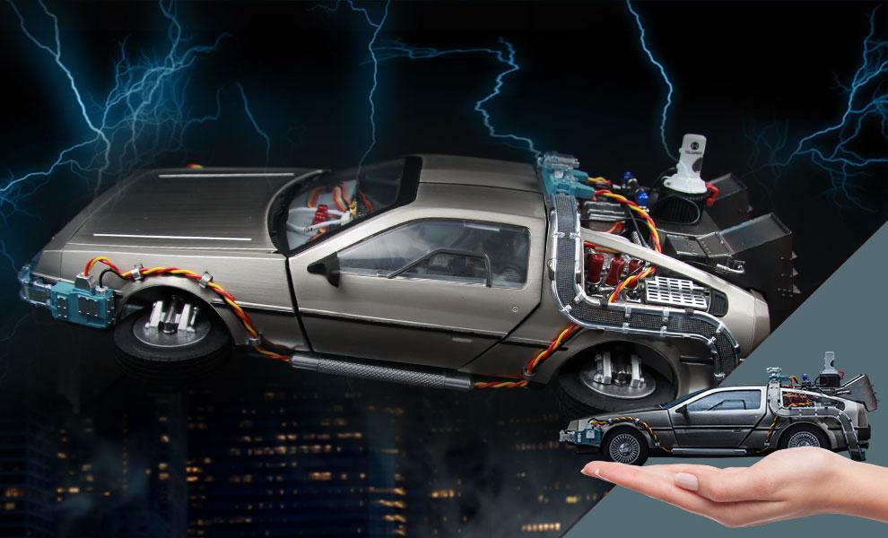 DeLorean Time Machine Back to the Future Collectible Figure