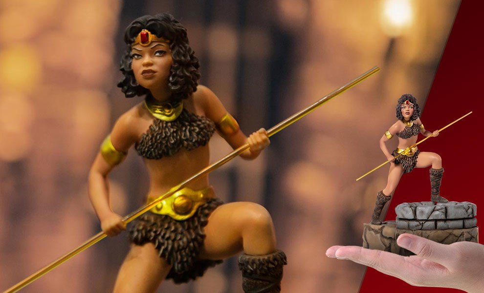 Diana the Acrobat Dungeons and Dragons Statue