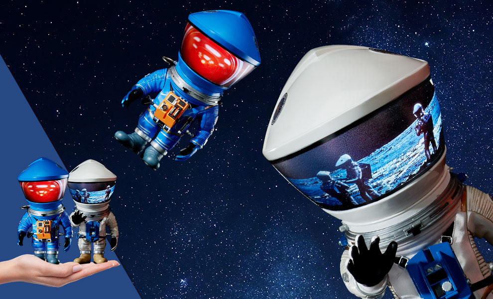 Discovery Astronaut (Silver & Blue Twin Pack) 2001: A Space Odyssey Vinyl Collectible