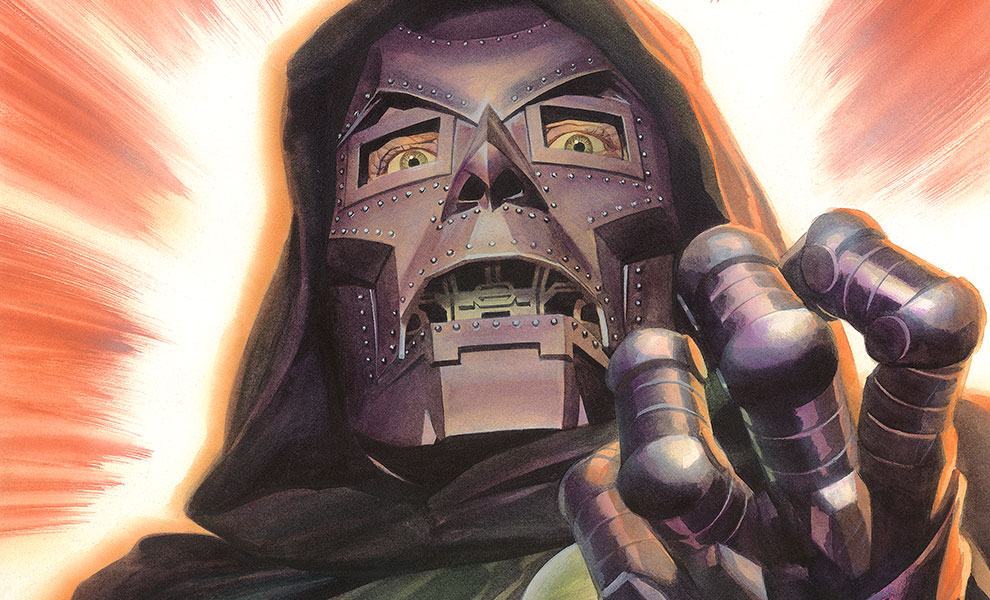Doctor Doom Marvel Art Print