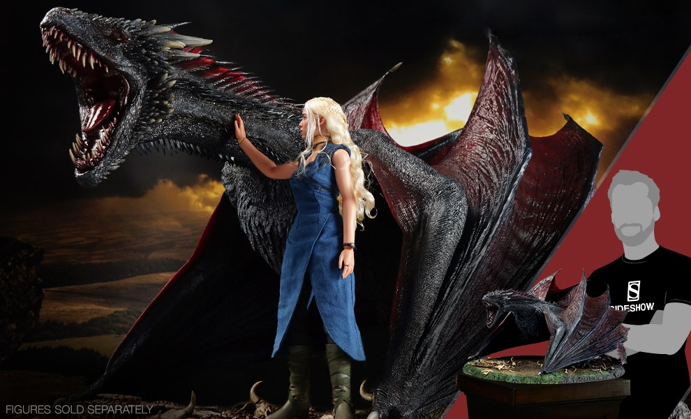 Drogon Game of Thrones Sixth Scale Figure