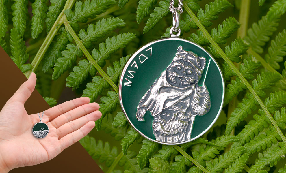 Endor Planetary Medallion Star Wars Jewelry