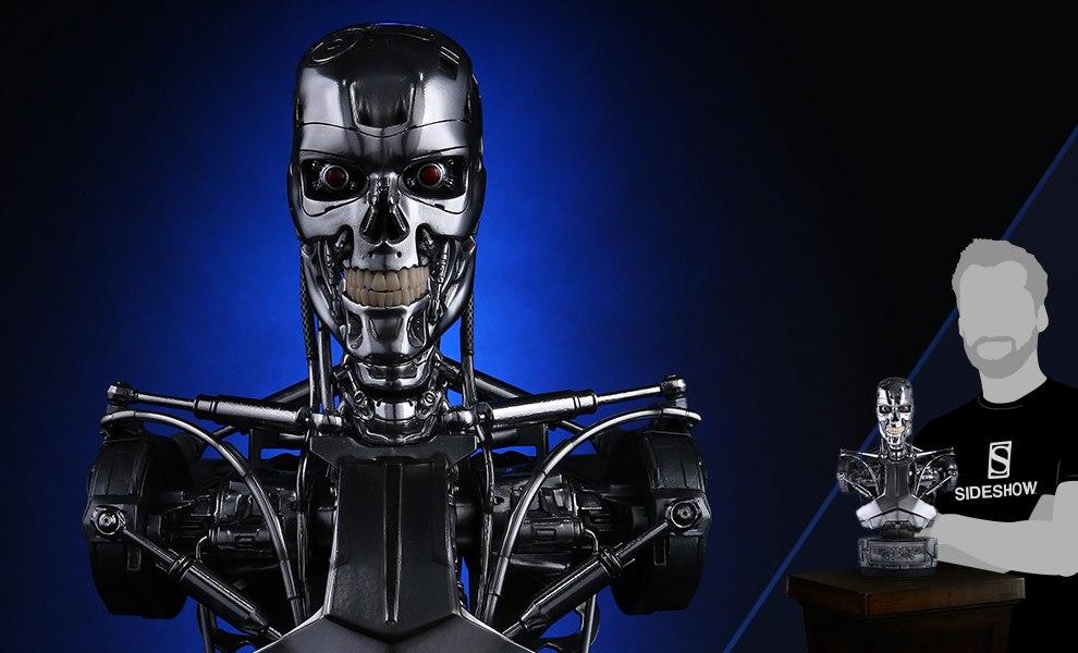 Endoskeleton Terminator Bust