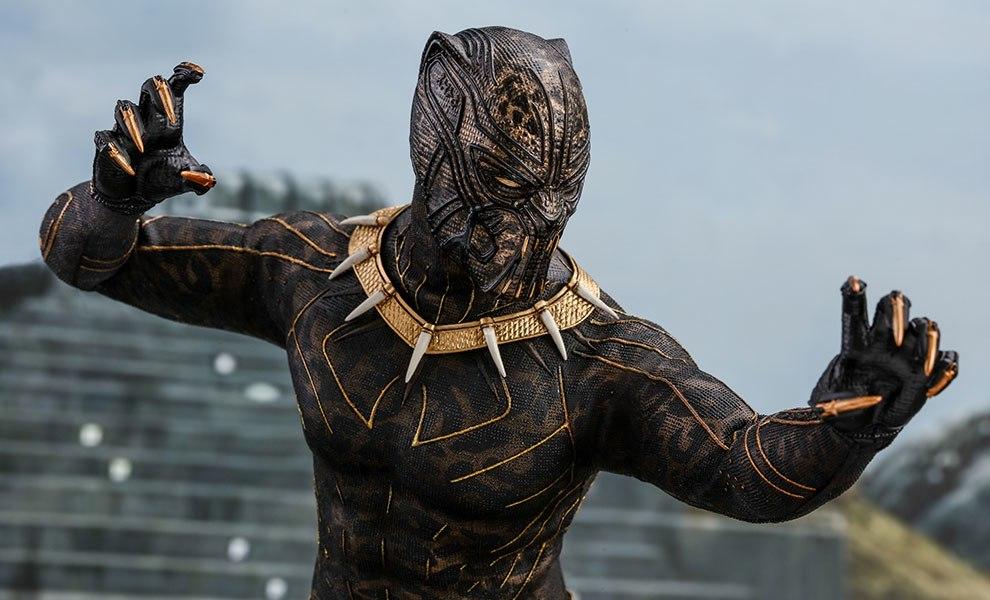 Erik Killmonger Marvel Sixth Scale Figure