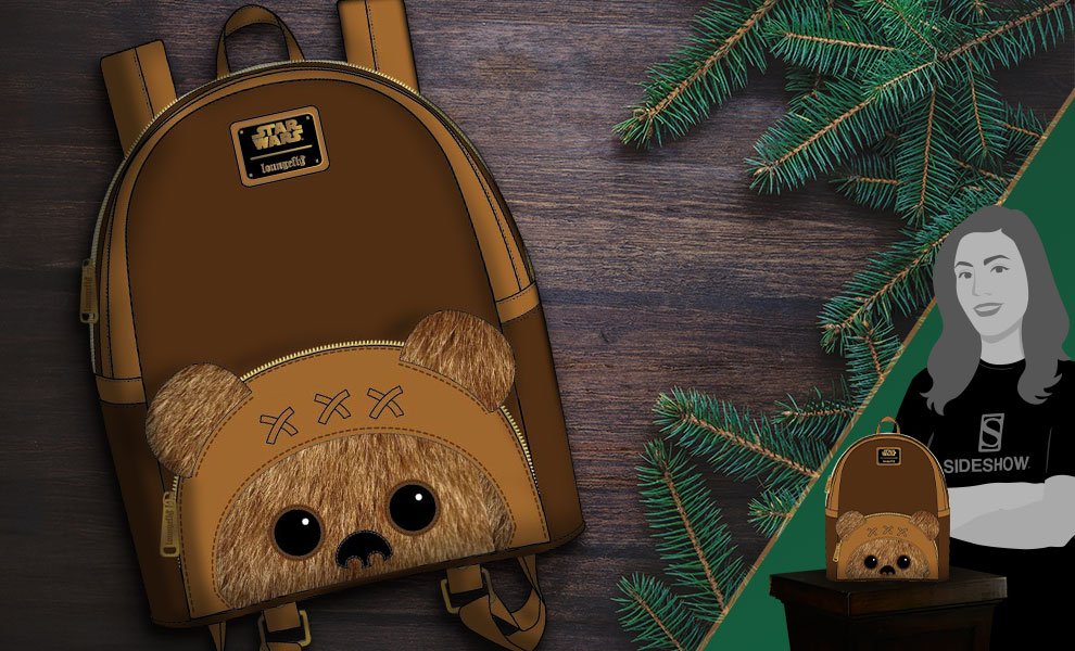 Ewok Mini Backpack Star Wars Apparel