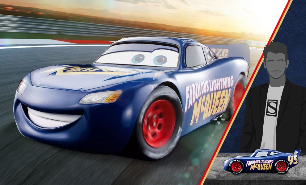 Fabulous Lightning McQueen Disney Model