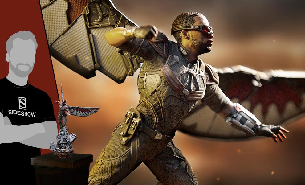 Falcon Marvel Statue