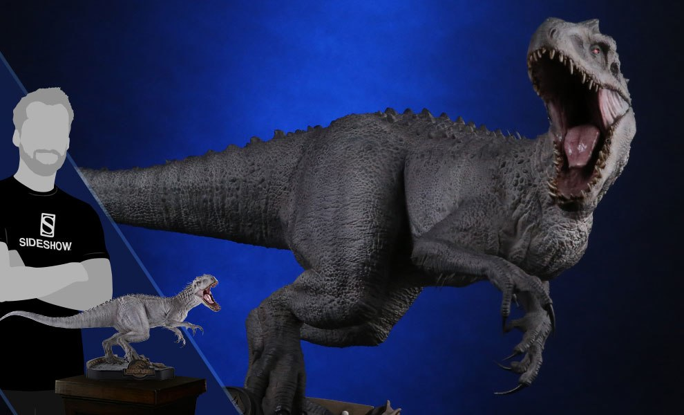 Final Battle Indominus Rex Jurassic World Statue