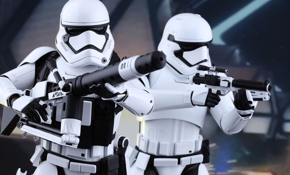 First Order Stormtroopers Star Wars Sixth Scale Figure