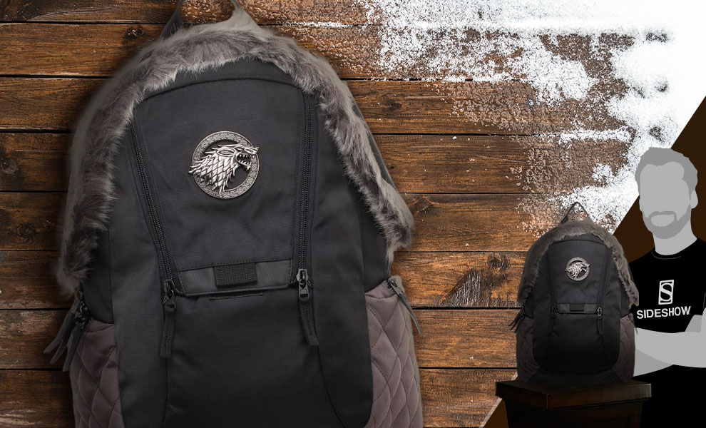 Game of Thrones Stark Inspired Backpack Game of Thrones Apparel