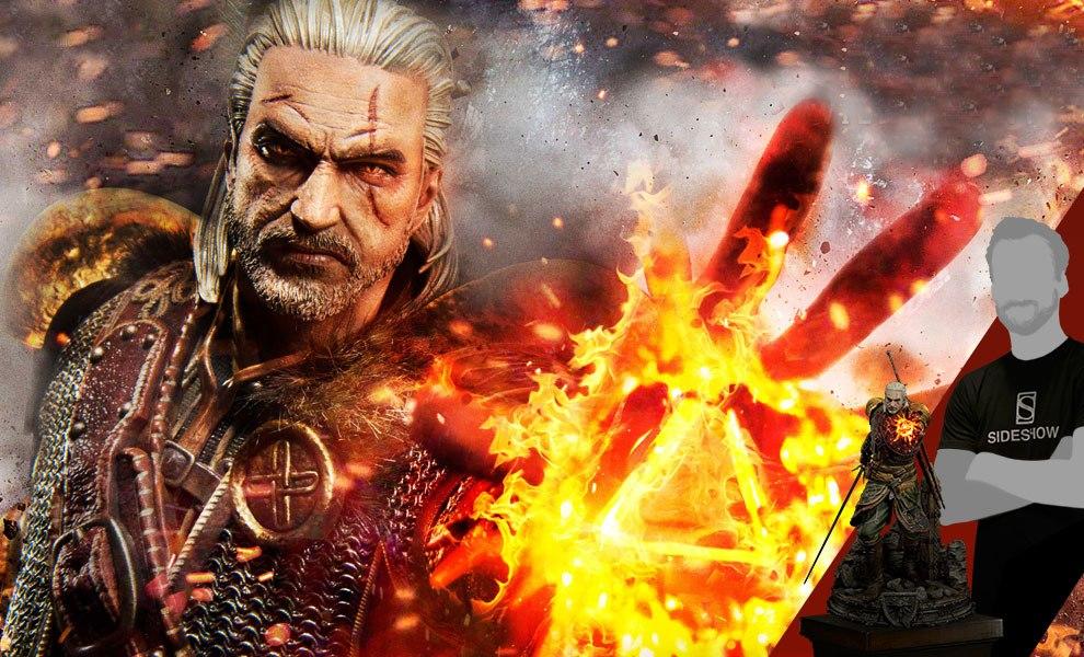 Geralt of Rivia Skellige Undvik Armor The Witcher 3: Wild Hunt Statue