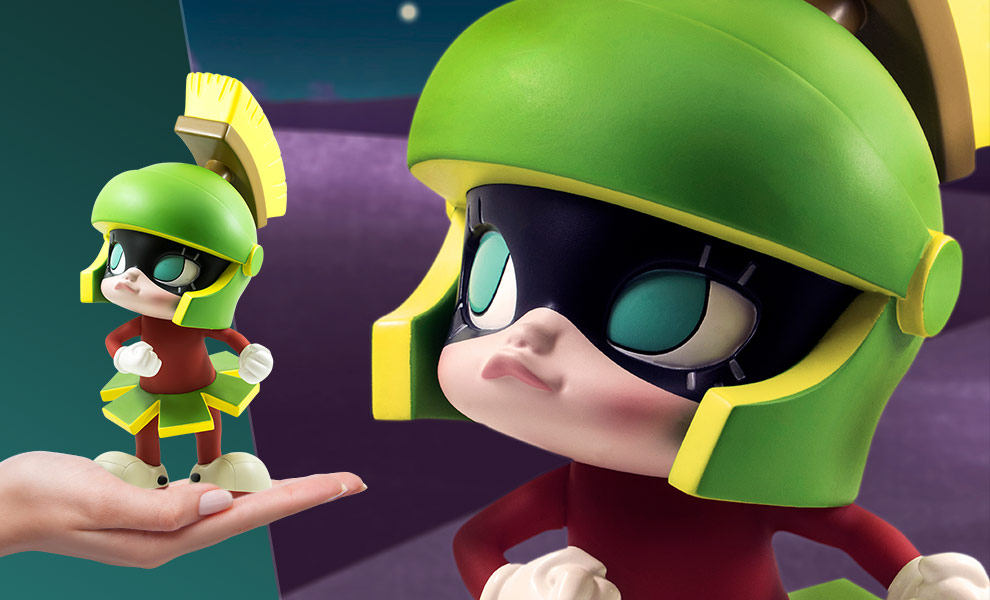 Get Animated: Marvin the Martian Looney Tunes Vinyl Collectible