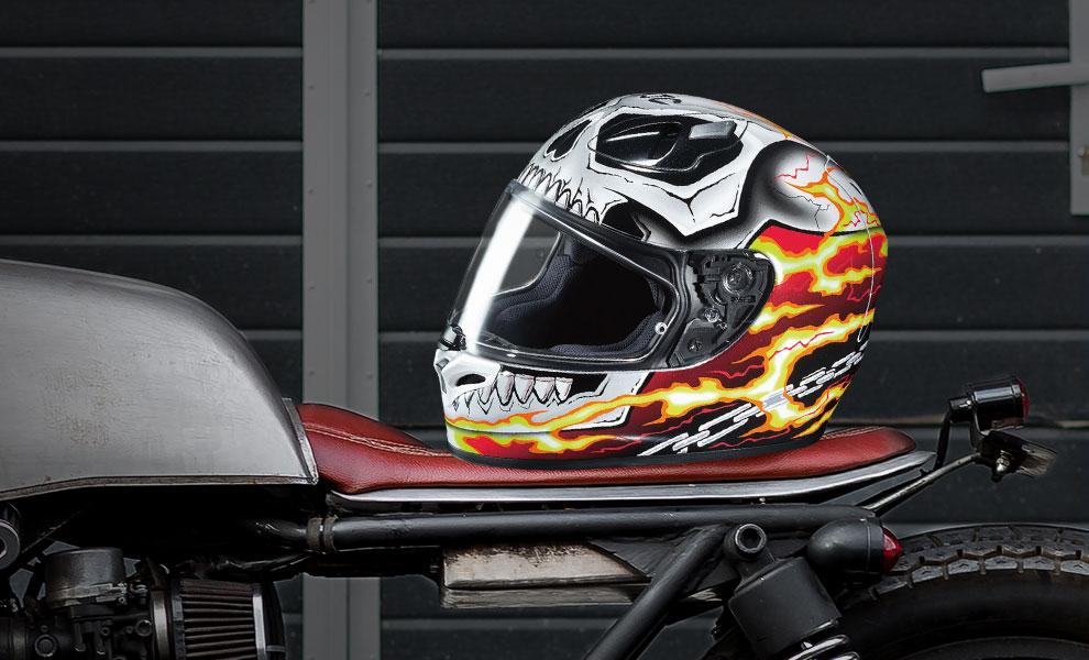 Ghost Rider HJC FG-17 Marvel Helmet
