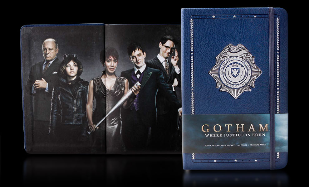 Gotham Hardcover Ruled Journal DC Comics Book