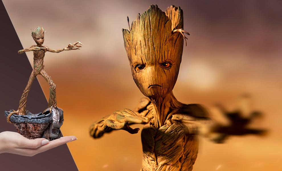 Groot Marvel Statue