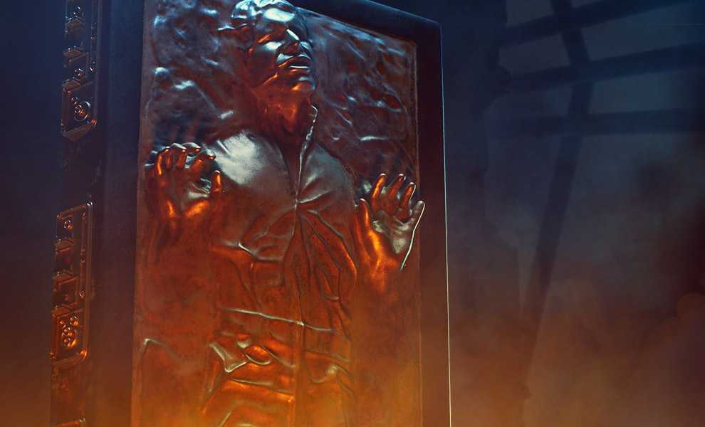 Han Solo in Carbonite Star Wars Sixth Scale Figure