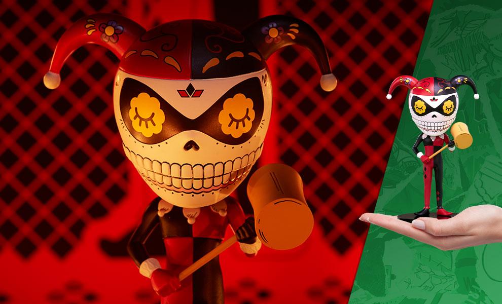 Harley Quinn Calavera DC Comics Designer Collectible Toy