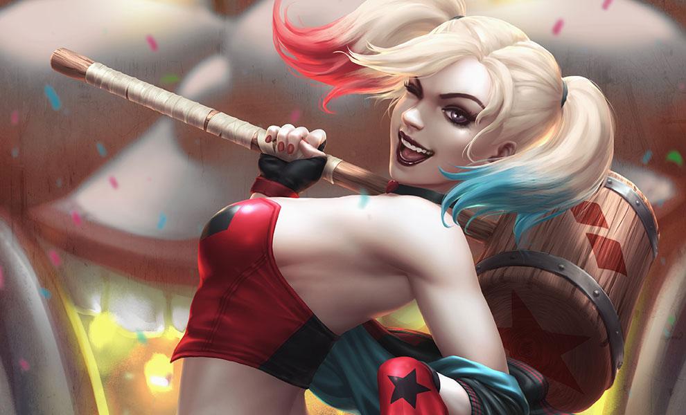 Harley Quinn: Hell on Wheels! DC Comics Art Print