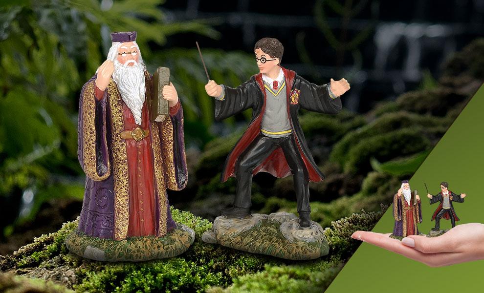 Harry and The Headmaster Harry Potter Figurine