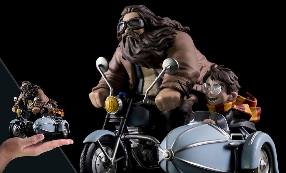 Harry Potter and Rubeus Hagrid Q-Fig Max Harry Potter Diorama