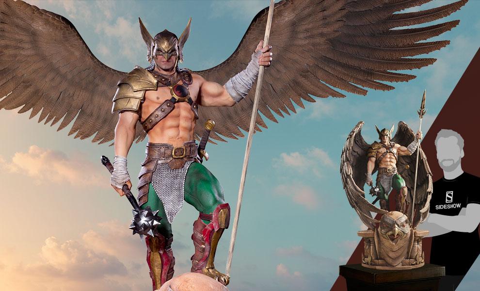 Hawkman (Open & Closed Wings) DC Comics Statue