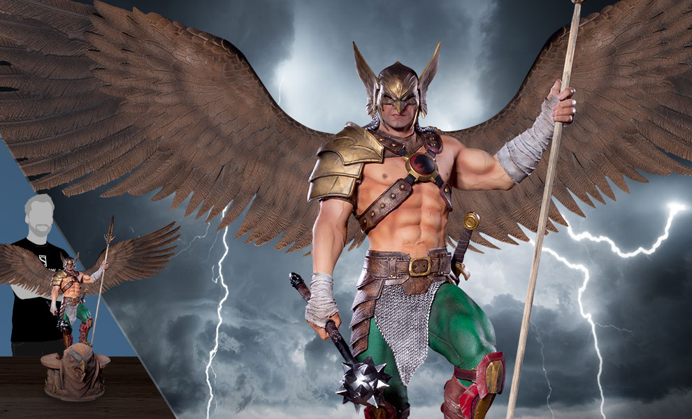 Hawkman (Open Wings) DC Comics Statue