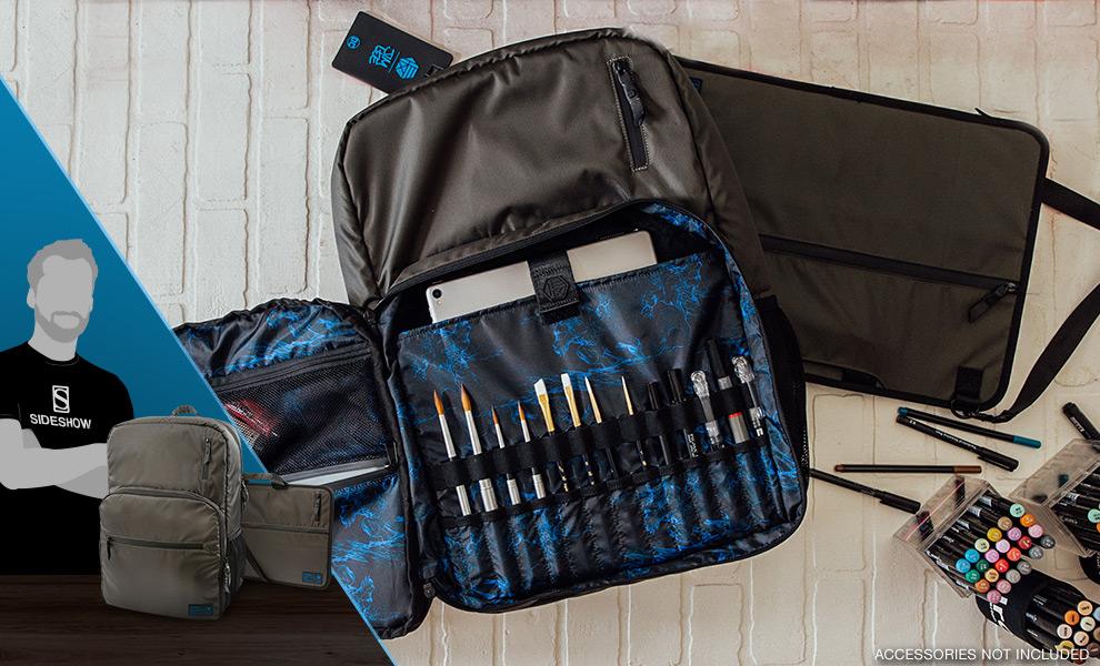 HEX x Jim Lee Artist Backpack and Portfolio DC Comics Apparel