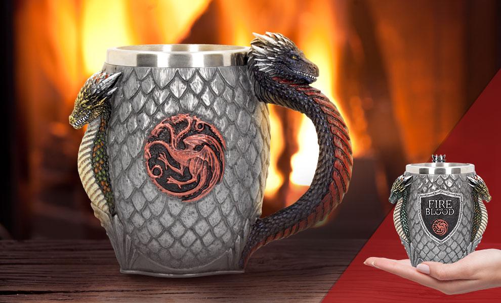 House Targaryen Tankard Game of Thrones Collectible Drinkware
