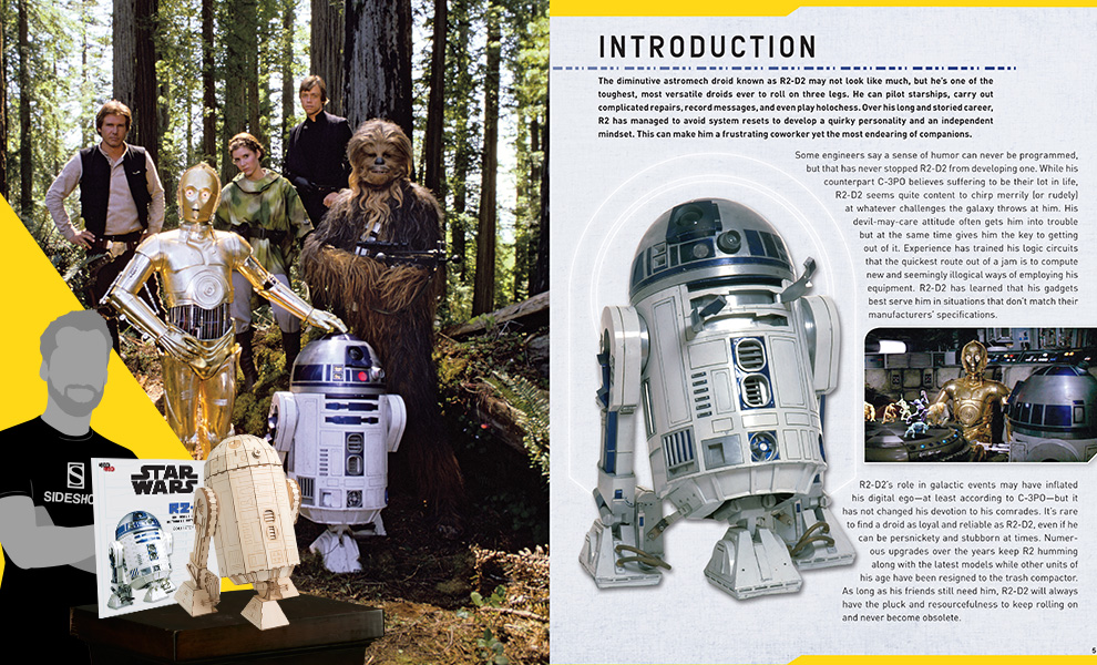 IncrediBuilds: R2-D2 Collector's Edition Star Wars Collectible Set