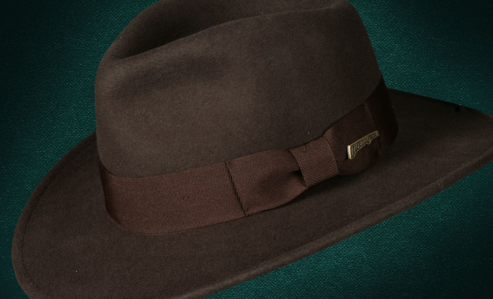 Indiana Jones Fedora - Crushable Wool Indiana Jones Hat