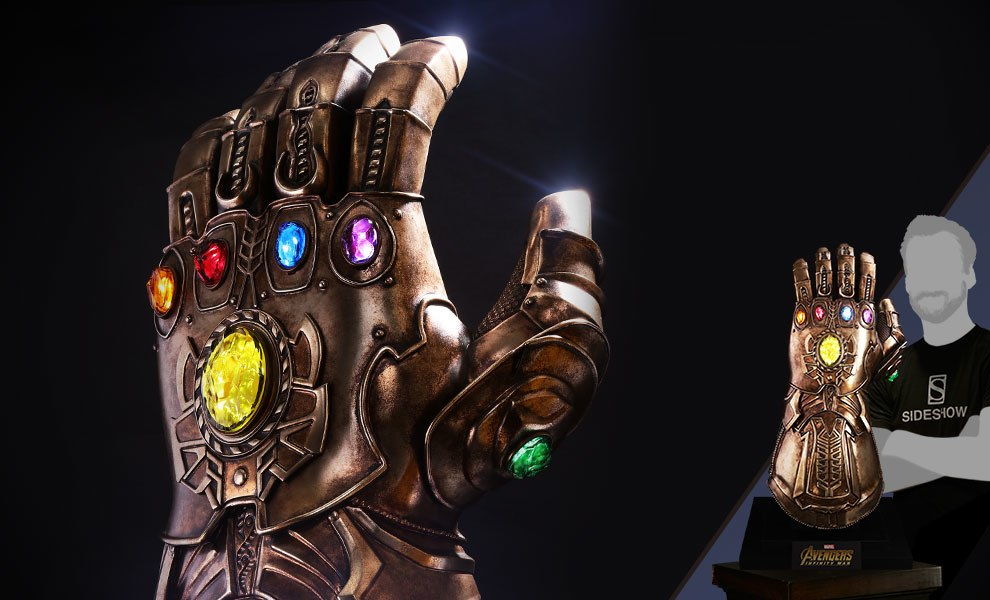 Infinity Gauntlet Marvel Prop Replica