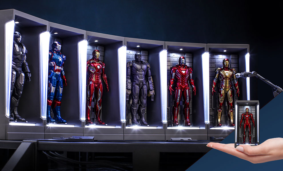 Iron Man Hall of Armor Miniature (Series 2) Marvel Diorama