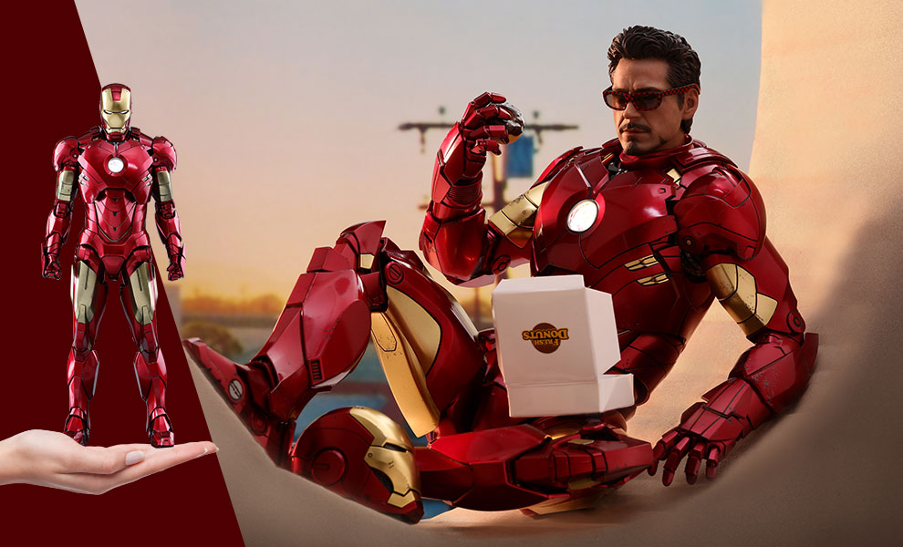 Iron Man Mark IV Marvel Sixth Scale Figure