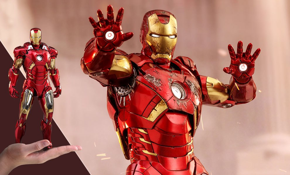 Iron Man Mark VII Marvel Sixth Scale Figure