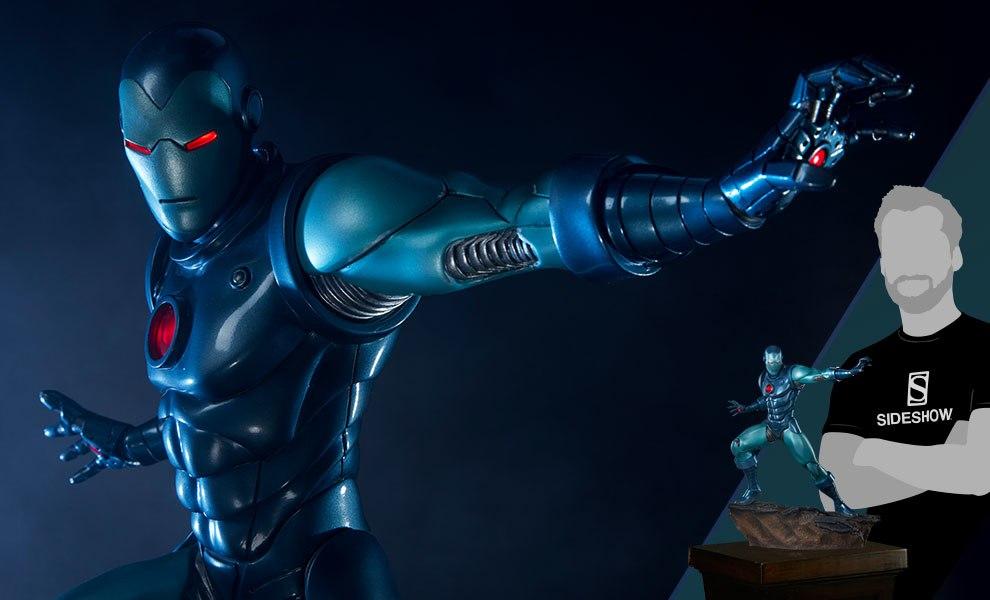 Iron Man Stealth Suit Marvel Statue