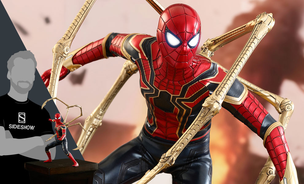 Iron Spider Marvel Sixth Scale Figure
