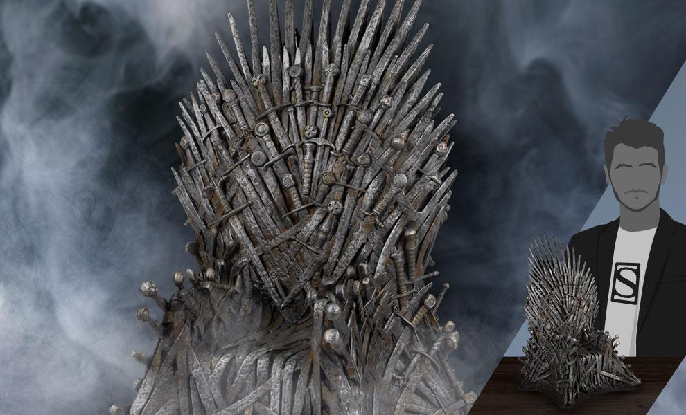 "Iron Throne 18"" Game of Thrones Replica"