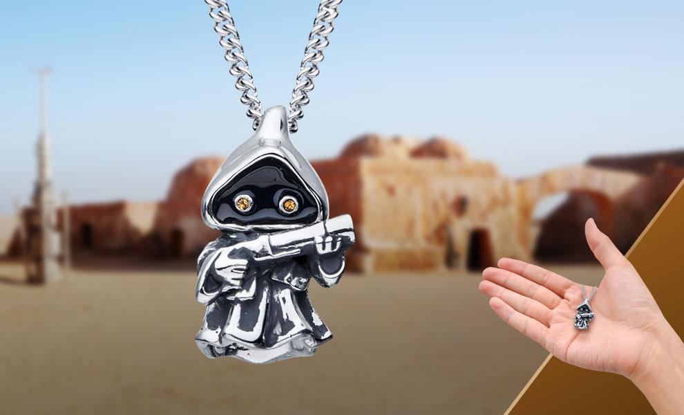 Jawa Necklace Star Wars Jewelry