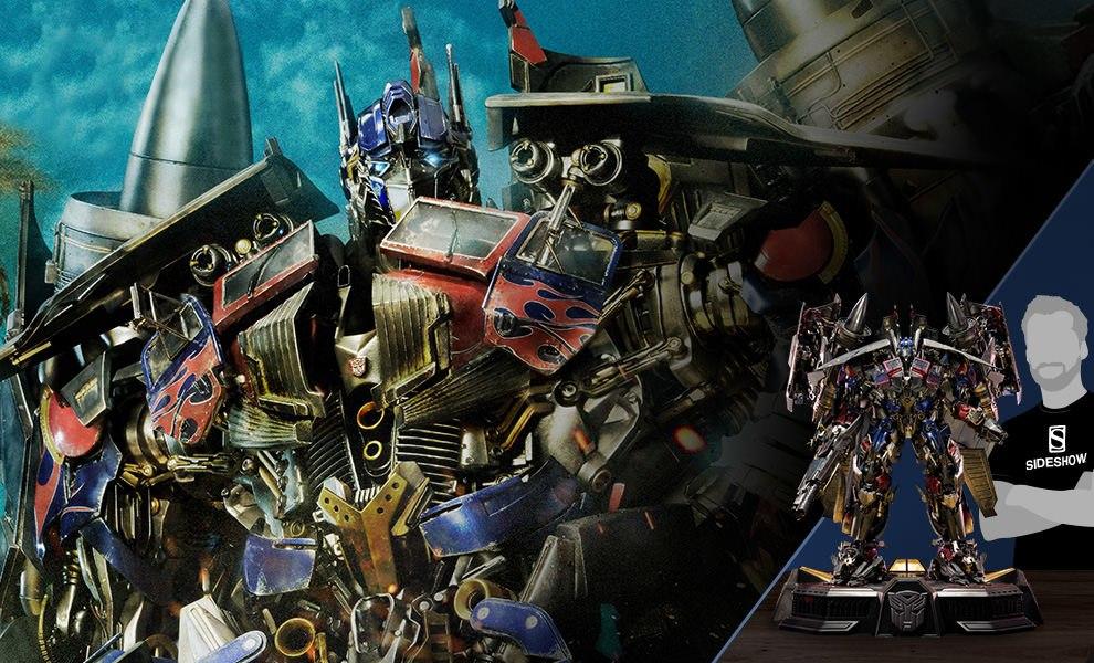 Jetpower Optimus Prime Transformers Statue